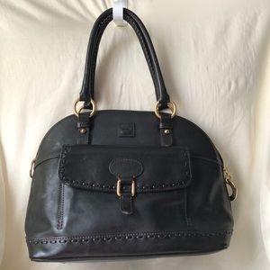 Dooney Bourke XL Handbag Black Leather